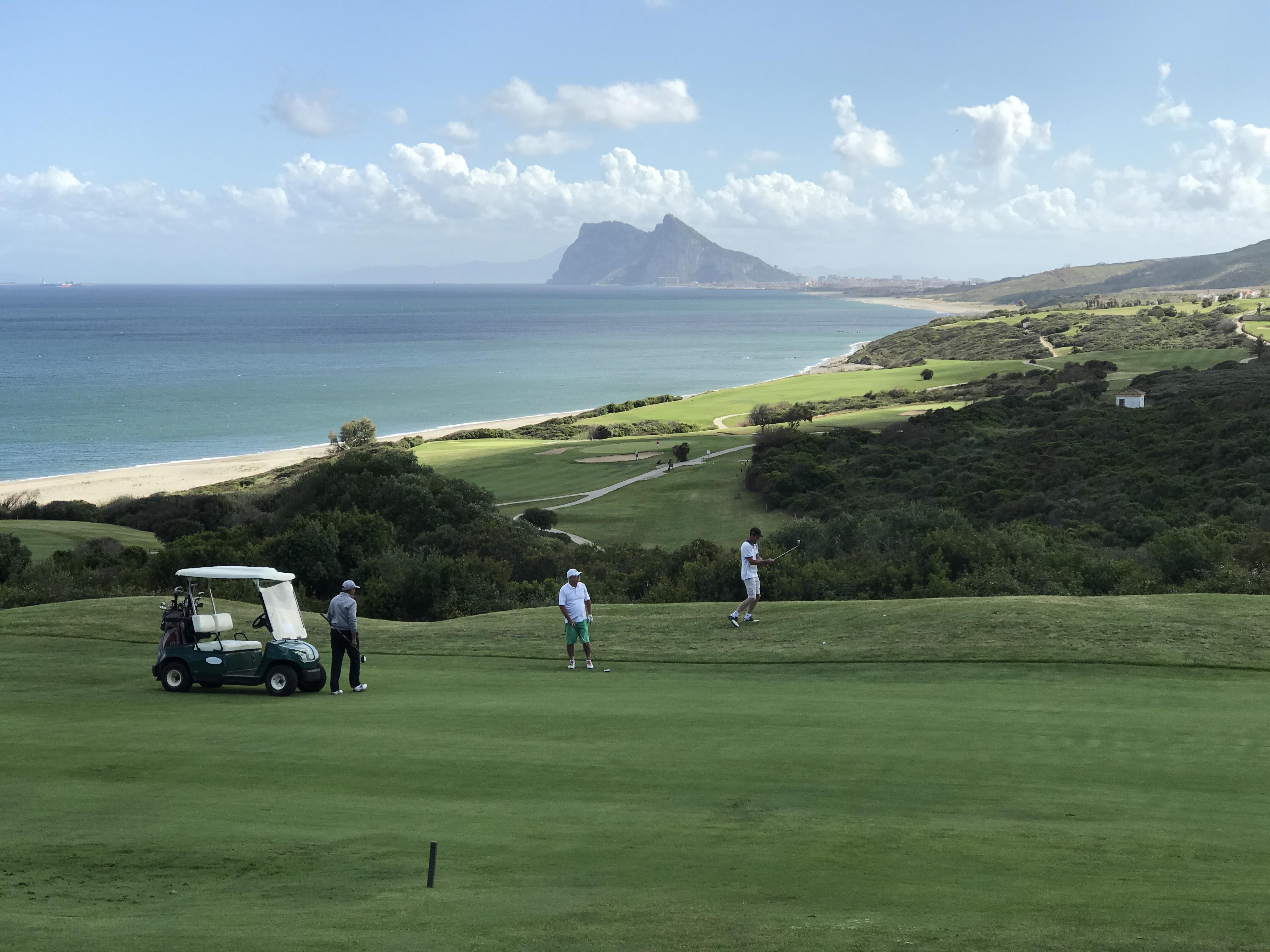 Golf Et Gibraltar